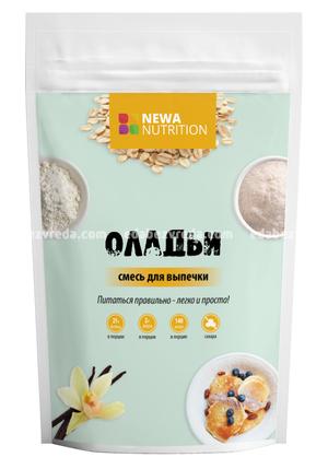 Смесь Newa Nutrition Протеиновые оладьи и блинчики, 200 г);